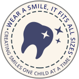 Circle mark for Caldwell Pediatric Dentistry in Nashville, TN